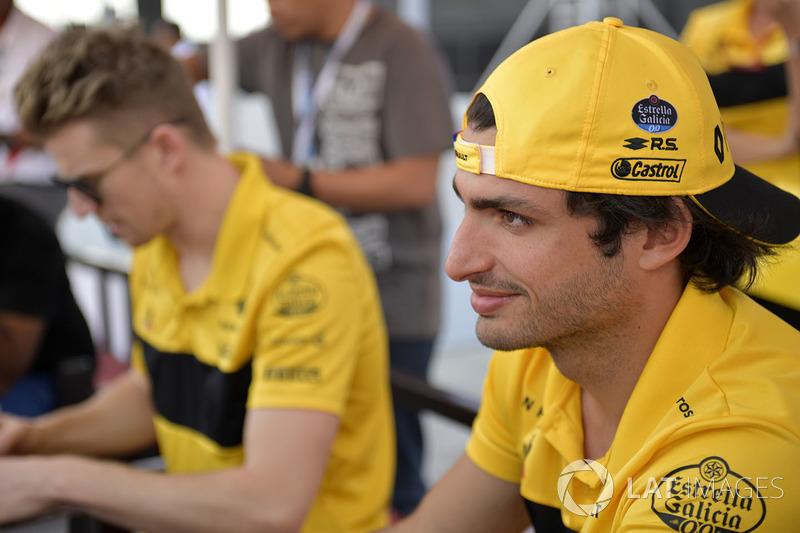 Carlos Sainz Jr., Renault Sport F1