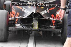 Red Bull Racing RB14, dettaglio del diffusore