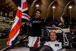 Lando Norris e David Coulthard del Team Great Britain