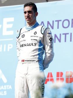 Tercer lugar Sébastien Buemi, Renault e.Dams