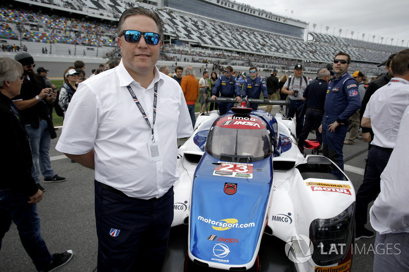 Zak Brown, director de United Autosports