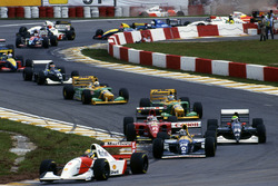 Ayrton Senna, McLaren MP4/8 líder