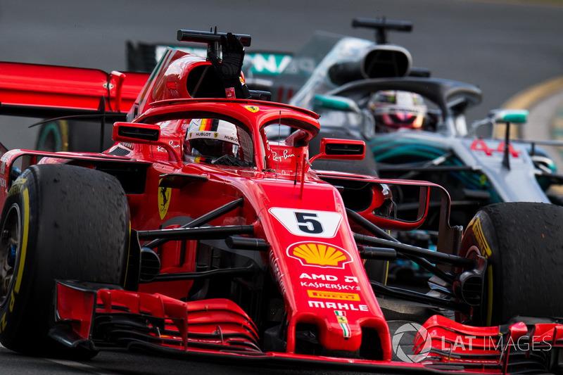 1. GP Australia - Pemenang: Sebastian Vettel