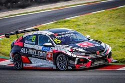 #15 James Thompson, ALL-INKL.COM Münnich Motorsport Honda Civic Type R TCR