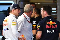 Max Verstappen, Red Bull Racing et Christian Horner, team principal Red Bull Racing