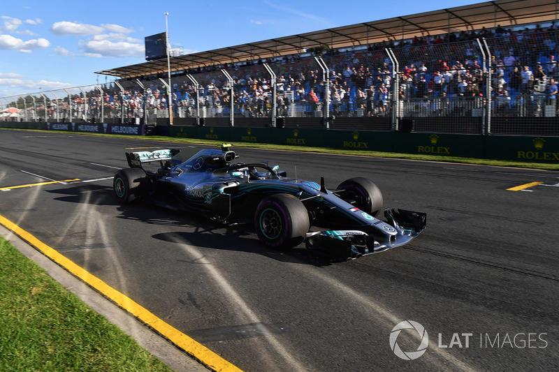 8. Valtteri Bottas, Mercedes-AMG F1 W09