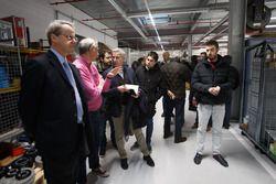 Didier Clément, Sporting Technical Coordinator, Citroen Racing with medias