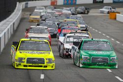 Matt Crafton, ThorSport Racing, Ford F-150 Ideal Door/Menards and Ben Rhodes, ThorSport Racing, Ford