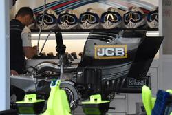 La boîte de vitesses en titane de la Williams FW41