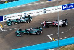 Nelson Piquet Jr., Jaguar Racing, Mitch Evans, Jaguar Racing & Edoardo Mortara, Venturi Formula E Te