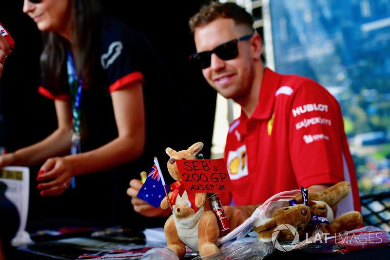 Себастьян Феттель, Ferrari, 200й Гран Прі