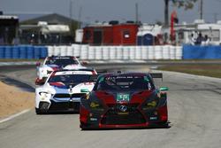#15 3GT Racing Lexus RCF GT3, GTD: Jack Hawksworth, David Heinemeier Hansson, Sean Rayhall, #24 BMW