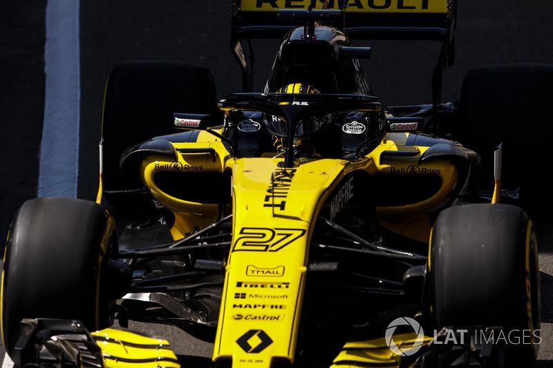 11: Nico Hulkenberg, Renault Sport F1 Team R.S. 18, 1'27.901