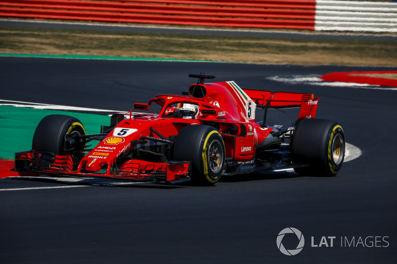 2: Sebastian Vettel, Ferrari SF71H, 1'25.936