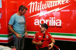 Troy Corser, Eugene Laverty, Milwaukee Aprilia