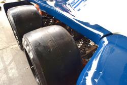 Le ruote anteriori della Tyrrell P34