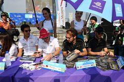 Lucas di Grassi, Audi Sport ABT Schaeffler, Daniel Abt, Audi Sport ABT Schaeffler, Jean-Eric Vergne,