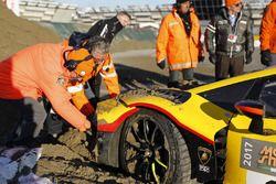 Incidente di Andrea Palma, Lamborghini Huracan ST