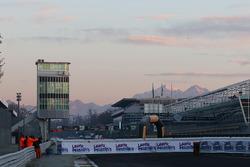 Primeras horas de la mañana en Monza