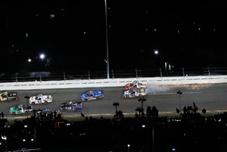 Myatt Snider, ThorSport Racing Ford, Austin Wayne Self, Niece Motorsports Chevrolet, crash