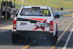 SuperUtes testing at Queensland Raceway