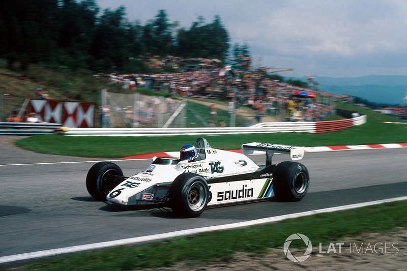 Keke Rosberg, Williams Ford-Cosworth FW08, 1982