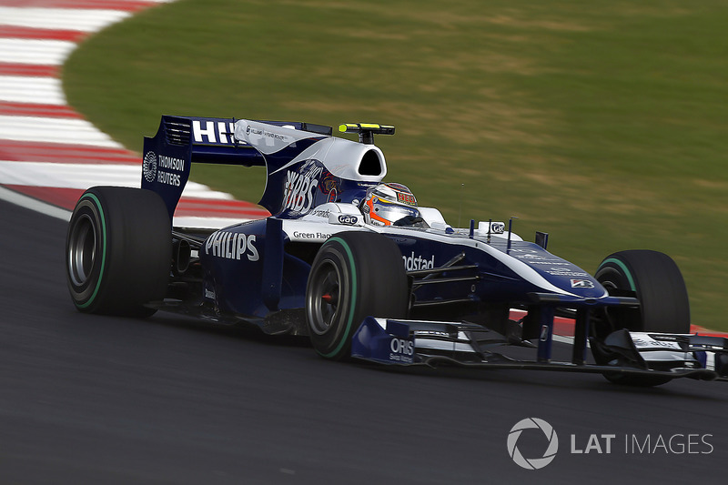 2010 (Nico Hulkenberg, Williams-Cosworth FW32)