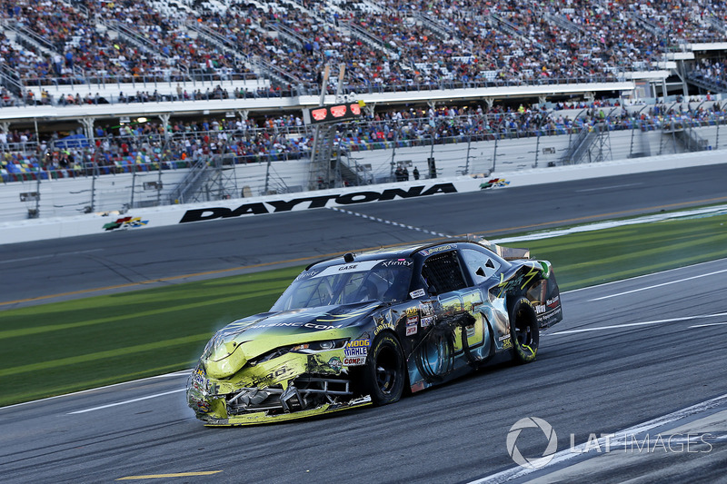 Joey Gase, Go Green Racing Chevrolet Camaro dopo l'incidente
