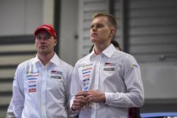 Jari-Matti Latvala en Ott Tanak, Toyota Racing