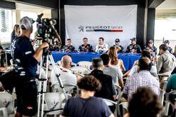 Conferencia de prensa, Bruno Famin, Peugeot Sport