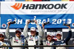 Podio TCR: i vincitori #130 Liqui Moly Team Engstler Volkswagen Golf GTi TCR: Luca Engstler, Florian