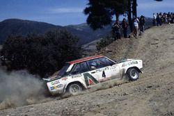 Маркку Ален и Илкка Кивимяки, Fiat 131 Abarth