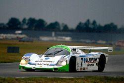 John Winter, Frank Jelinski, Henri Pescarolo, Hurley Haywood, Porsche 962C