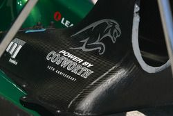 A Cosworth engine cover