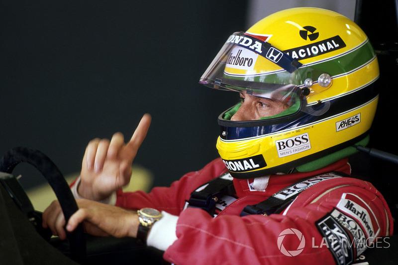 San Marino 1990: Ayrton Senna, McLaren MP4/5B