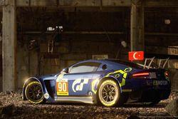 #90 TF Sport, Aston Martin V8 Vantage: Salih Yoluc, Euan Hankey, Nicki Thiim, Gran Turismo Sport Tanıtımı