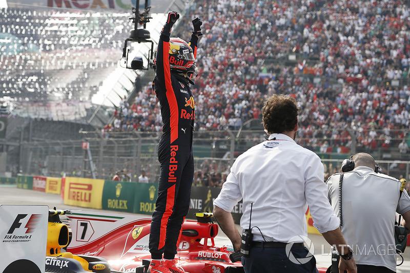 Ganador de carrera, Max Verstappen, Red Bull Racing