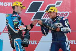 Podium : Aron Canet, Estrella Galicia 0,0, Jorge Martin, Del Conca Gresini Racing Moto3