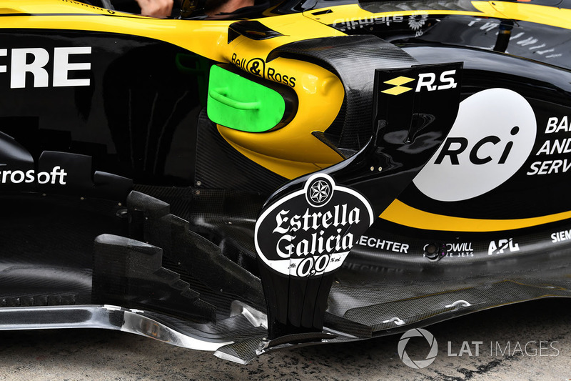 Renault Sport F1 Team R.S. 18 barge board detail