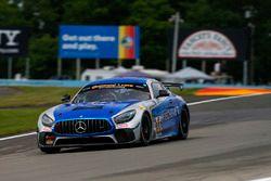 #33 Winward Racing / HTP Motorsport, Mercedes-AMG, GS: Russell Ward, Damien Faulkner