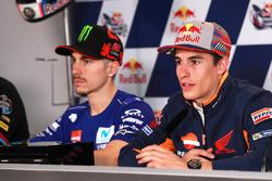 Conferencia de prensa: Marc Márquez, Repsol Honda Team, Maverick Viñales, Yamaha Factory Racing