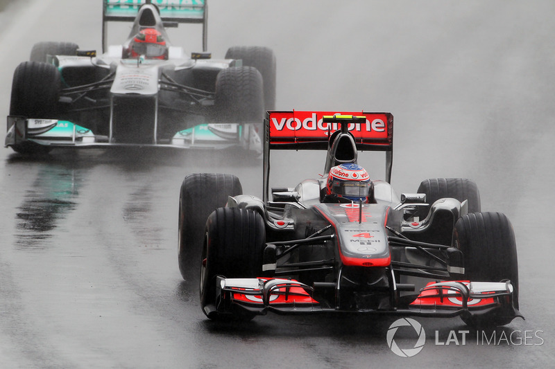 2011 Jenson Button, McLaren