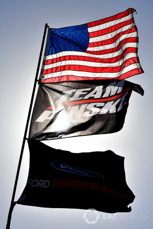 Brad Keselowski, Team Penske Ford flags