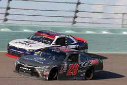 Christopher Bell, Joe Gibbs Racing Toyota, William Byron, JR Motorsports Chevrolet