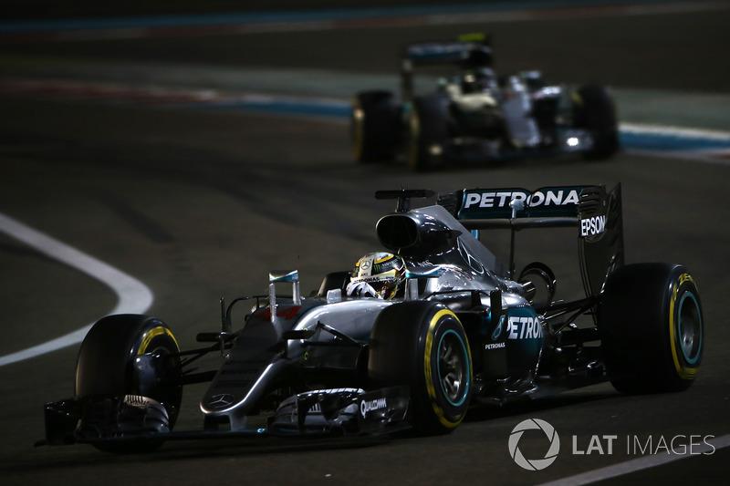 Lewis Hamilton e Nico Rosberg, Mercedes F1 W07 Hybrid