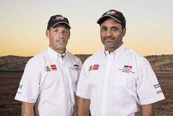 Nasser Al Attiyah, Matthieu Baumel, Toyota Gazoo Racing