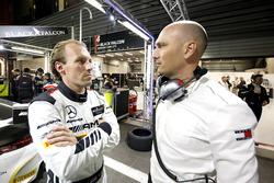 #4 Black Falcon Mercedes-AMG GT3: Yelmer Buurmann with Stefan Wendl, AMG