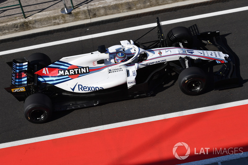 OLiver Rowland, Williams FW41
