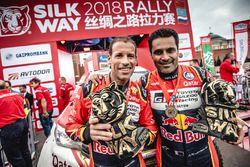 Yarış galibi #103 X-Raid Team Mini: Yazeed Al Rajhi, Timo Gottschalk