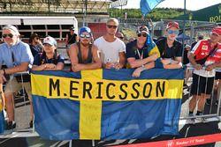 Fans de Marcus Ericsson